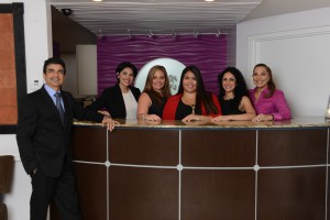 Dr. Yousefi and the Younger Image Plastic Surgery Center Staff